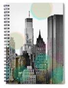 Gray City Beams Spiral Notebook