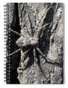 Gray On Gray Spiral Notebook
