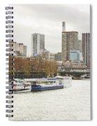 Gray Side Of Paris Spiral Notebook