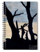Gray Sunset Spiral Notebook