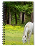 Grazing In Golden Fields Spiral Notebook