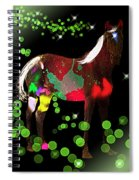 Grazing In The Grass - Featured In Visions Of The Night Group Spiral Notebook