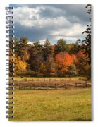 Grazing On The Farm Spiral Notebook