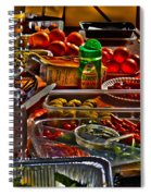 Grazing Table 2 Spiral Notebook