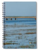 Grazing The River Spiral Notebook