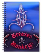 Greased Monkey Spiral Notebook