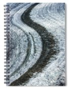 Great Aletsch Glacier Moraine Spiral Notebook