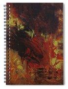 Great Ball Of Fire Spiral Notebook