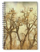 Great Blue Heron Hangout Fine Art Spiral Notebook