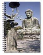 Great Buddha Of Kamakura 2 - Japan  Spiral Notebook