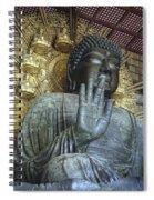 Great Buddha Of Nara Japan Spiral Notebook