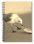 Great Catch With Fish Spiral Notebook
