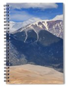 Great Colorado Sand Dunes 125 Spiral Notebook