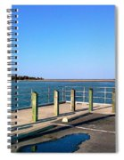 Great Day For Fishing In The Marsh Spiral Notebook