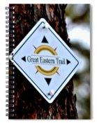 Great Eastern Trail Marker Spiral Notebook