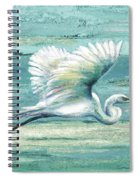 Great Egret I Spiral Notebook