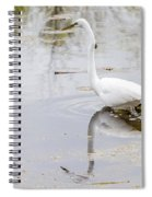 Great Egret Spiral Notebook