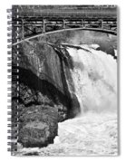 Great Falls In Paterson Nj Spiral Notebook