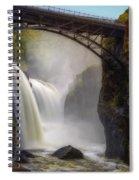 Great Falls Mist Spiral Notebook