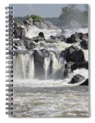 Great Falls Of The Potomac River Spiral Notebook