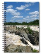 Great Falls On The Potomac Spiral Notebook