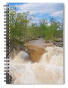 Great Falls White Water #5 Spiral Notebook