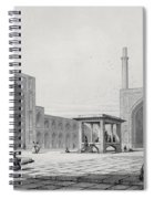 Great Friday Mosque In Isfahan Spiral Notebook