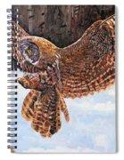 Great Grey Spiral Notebook