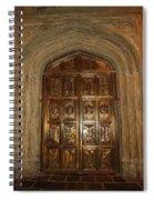 Great Hall Entrance Door Spiral Notebook