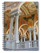 Great Hall Of The Library Of Congress  Spiral Notebook