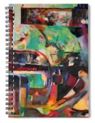 Great Is Peace Spiral Notebook