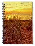 Great Lake Great Sunset 2 Spiral Notebook