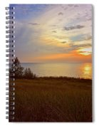 Great Lake Great Sunset Spiral Notebook