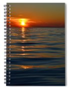 Great Lake Sunset Spiral Notebook