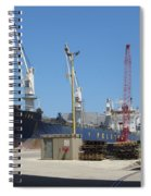 Great Lakes Ship Polsteam 3 Spiral Notebook