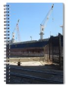 Great Lakes Ship Polsteam 4 Spiral Notebook