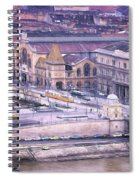 Great Market Hall Budapest Spiral Notebook