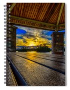 Great Night For A Picnic Spiral Notebook