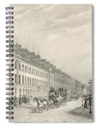 Great Pultney Street, Bath, C.1883 Spiral Notebook
