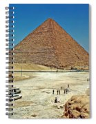 Great Pyramid Of Giza Spiral Notebook