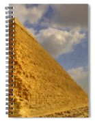 Great Pyramid Painting Spiral Notebook