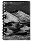 Great Sand Dune National Park At Sunrise Spiral Notebook