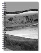 Great Sand Dunes - 1 - Bw Spiral Notebook