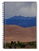 Great Sand Dunes National Park In Colorado Spiral Notebook