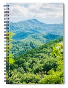 Great Smoky Mountains National Park Near Gatlinburg Tennessee. Spiral Notebook