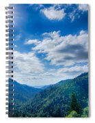 Great Smoky Mountains National Park On North Carolina Tennessee  Spiral Notebook