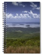 Great View On Top Of Cadilac Mountain Spiral Notebook