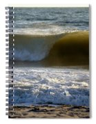 Great Wave Action Spiral Notebook