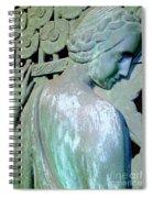Grecian Goddess Spiral Notebook