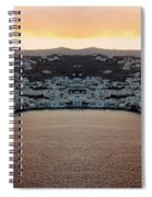 Greece Double Vision #154 Spiral Notebook